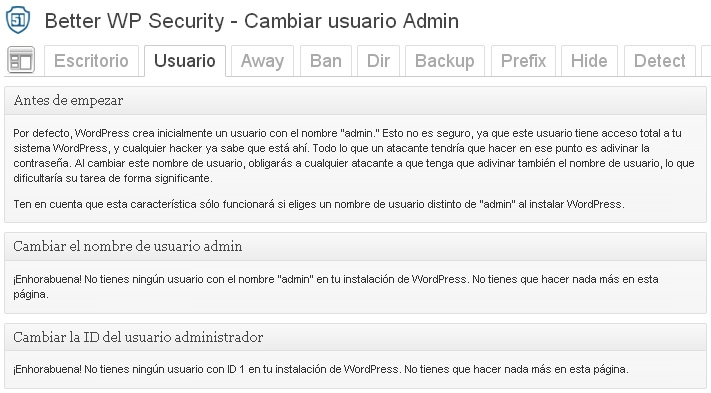 Better WP Security WordPress