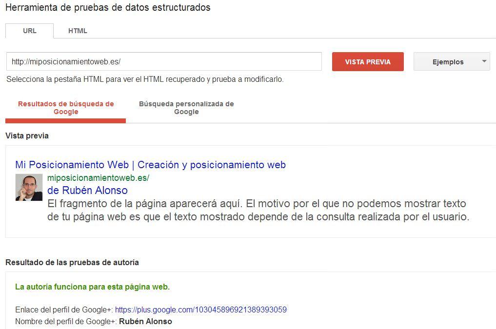 Autoría Mi Posicionamiento Web