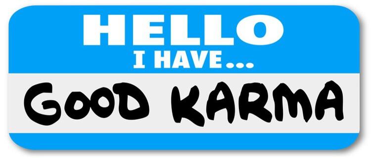 Karma digital - Comparte y serás compartido