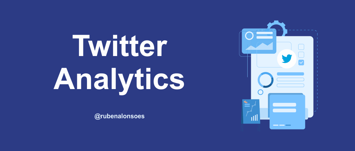 Twitter analytics para analizar tu perfil en twitter