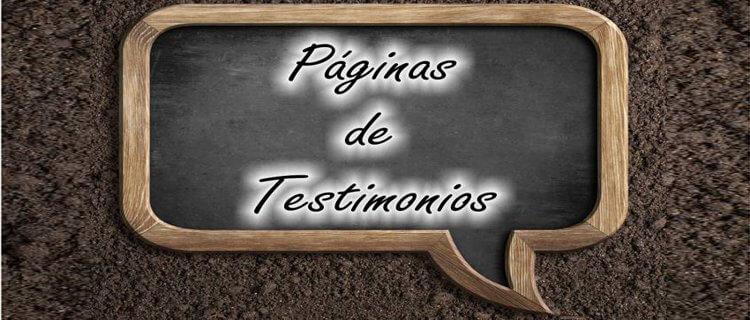 Páginas de testimonios para conseguir enlaces de calidad