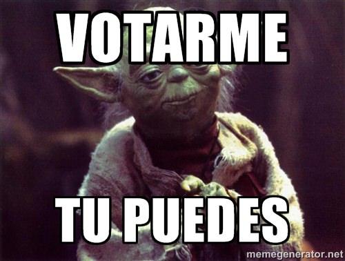 Votarme tu puedes