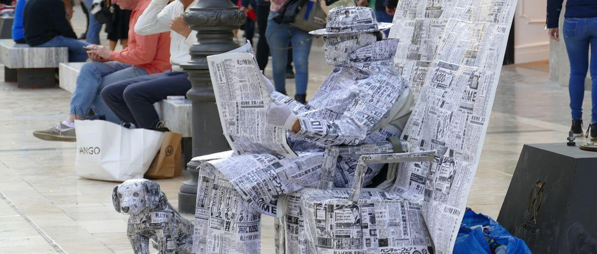 Cómo conseguir enlaces desde periódicos