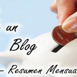 Vivir de un blog - Resumen mensual