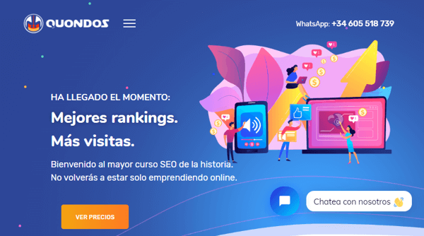 Quondos SEO y marketing online