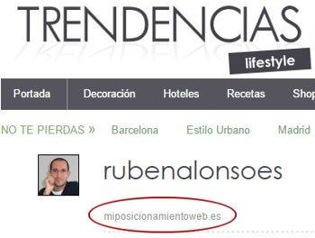 Perfil de usuario en TrendenciasLifestyle.com