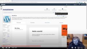 Video tutorial para instalar WordPress desde cPanel