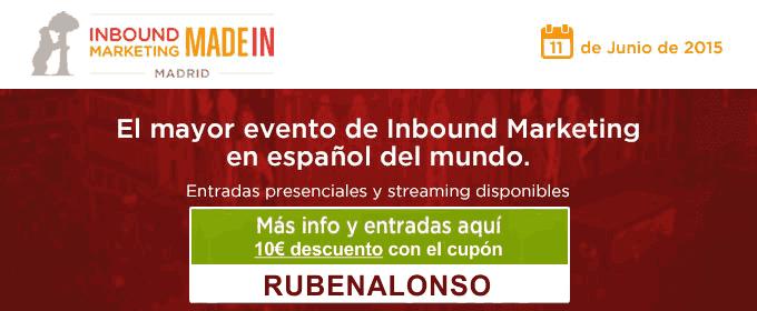 Inbound Marketing Made in Madrid - RUBENALONSO