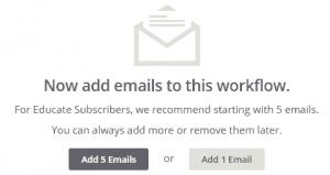 Agregar emails al autorespondedor en MailChimp