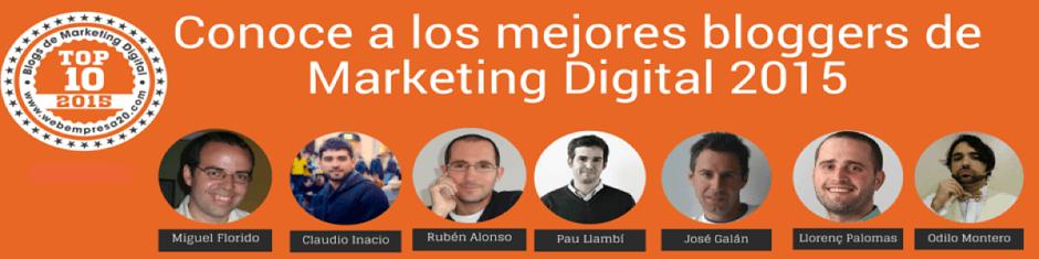 Hangout de los mejores bloggers de Marketing Digital 2015