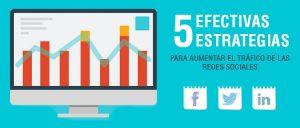 5 Estrategias para aumentar el tráfico desde redes sociales