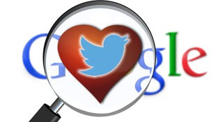 Twitter y Google