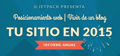 Informe anual de estadísticas JetPack en 2015