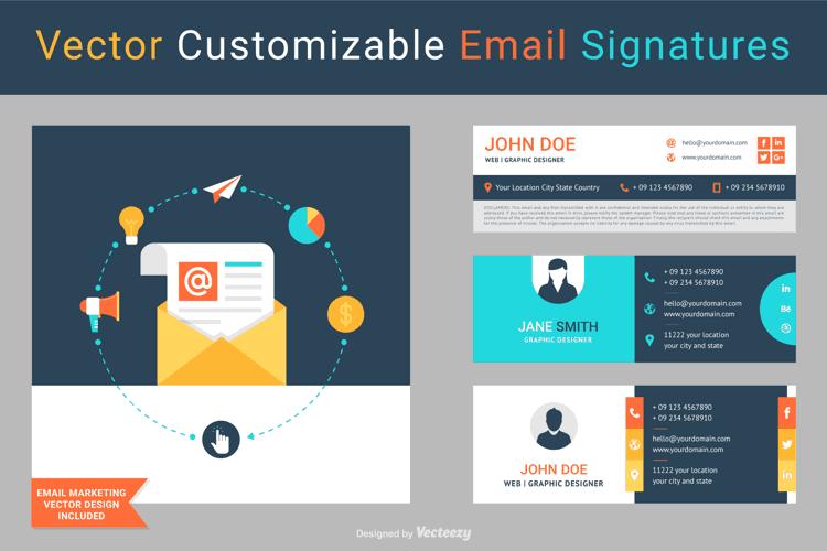 Pack de Firmas para el email