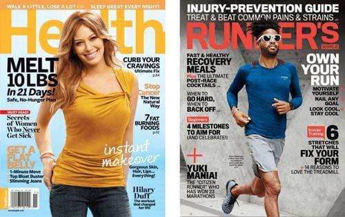 Titulares rompedores en las revistas