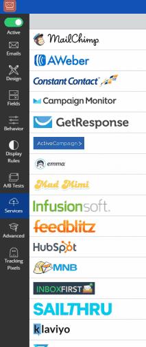 Configuración del gestor de newsletter en Sumo