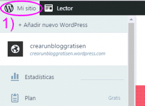 Configurar mi sitio en WordPress.com