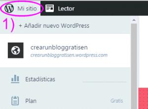 Configurar mi sitio en WordPress.com
