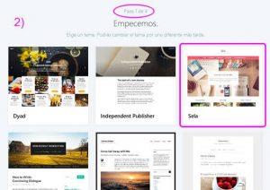 Elige un tema para tu blog en WordPress.com