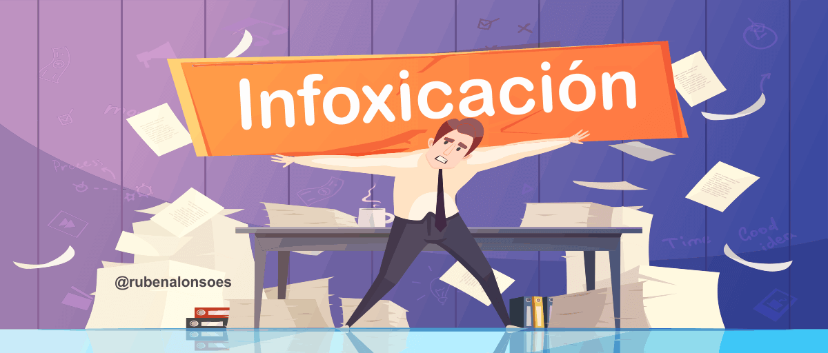 Infoxicación en el marketing digital