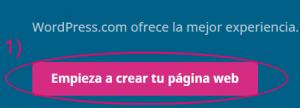 Crear un sitio web en WordPress gratis