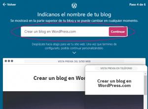 Crear un sitio web en WordPress gratis - Paso 4