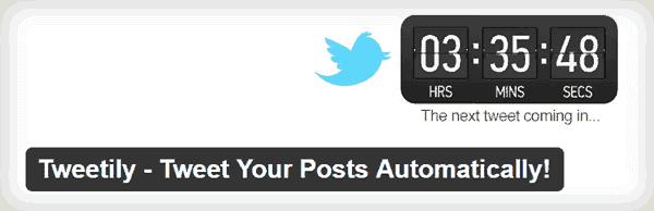 Tweetily para redifundir posts antiguos