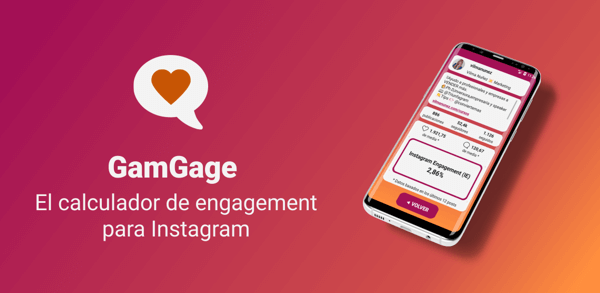 GamGage - El calculador de Engagement para Instagram