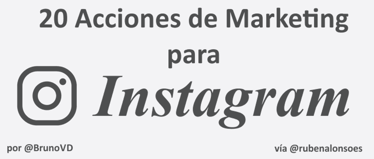 Acciones de Marketing y trucos para Instagram: tareas y Apps