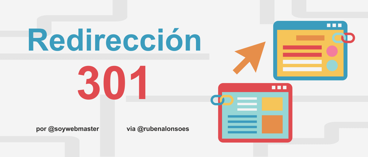Redirección 301 o redirect 301