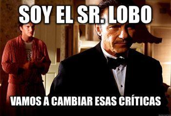 Llama al Sr. Lobo y cambia las críticas negativas