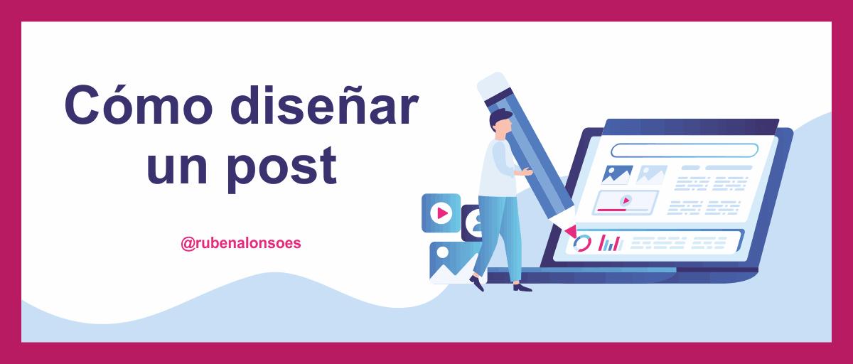 Cómo diseñar un post o maquetar artículos