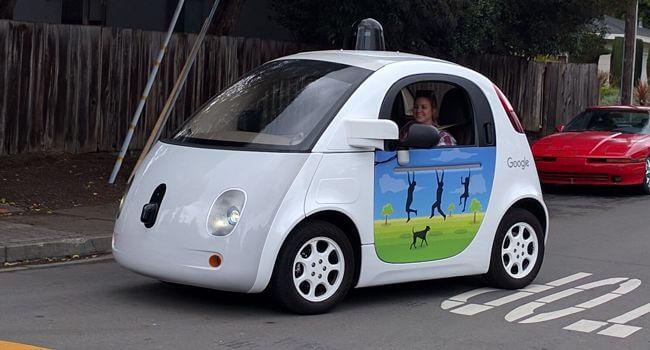 Coche autónomo de Google