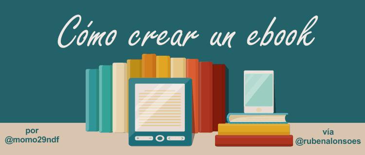 Cómo crear un ebook