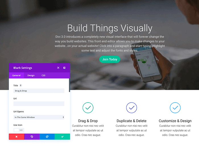 Visual Builder Elegant Themes