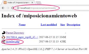 Directorio web donde migrar WordPress