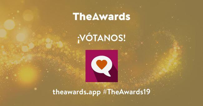 Vota mi app GamGage en TheAwards19