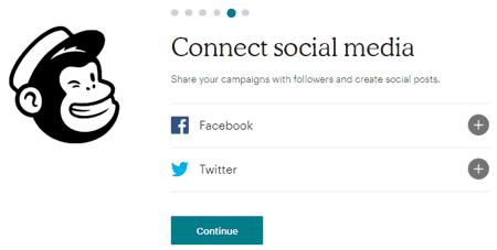 Conectar redes sociales con MailChimp