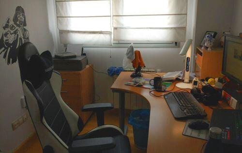 Mi oficina para trabajar desde casa