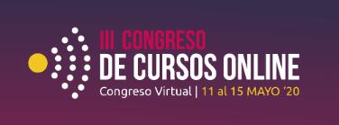 Tercer congreso de cursos online