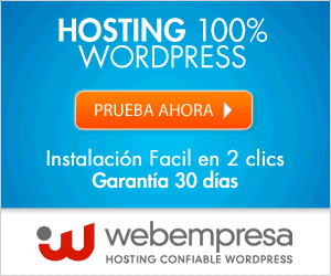 Webempresa hosting español