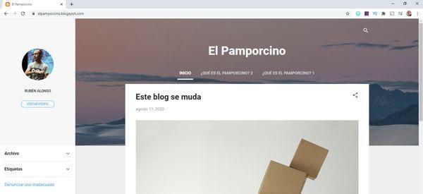 Blogger de prueba a migrar
