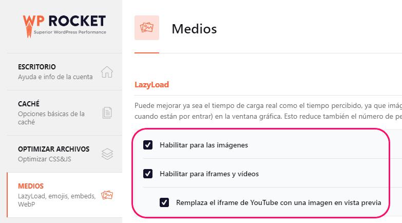 Ejemplo de WPO lazyload
