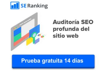 Auditoría SEO con SE Ranking